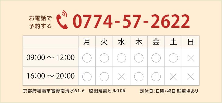 電話・営業曜日